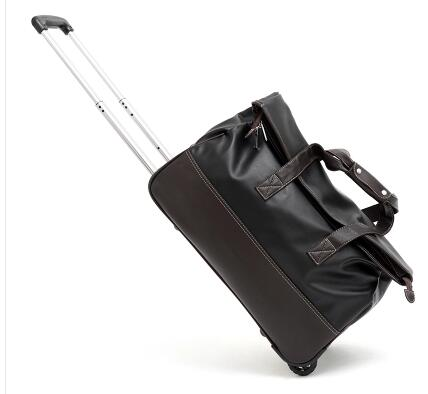 20 Inch Travel Trolley Luggage Bag On Wheels 24 Inch Men Travel Trolley Rolling Bags Women Wheeled Bag Business Baggage Suitcase