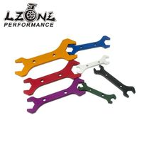 LZONE RACING AN Aluminum WRENCH HOSE Fitting Tool Aluminum Spanner DOUBLE ENDED AN3 AN20 7PCS SET