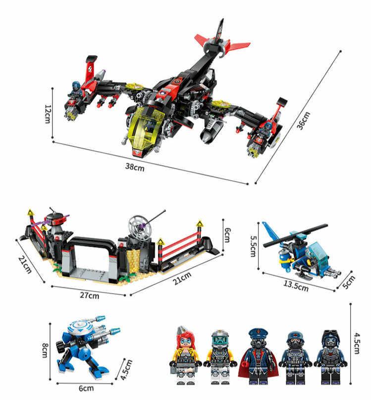 Строительные блоки, совместимые с Lego enlamten E2721 1001 P Модели Конструкторы для строительства игрушки хобби для Chlidren