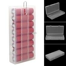 1 шт. 8X18650 Батарея держатель дело 18650 pp Батарея коробка для хранения с держателем прозрачный сильный футляр z07 Прямая поставка