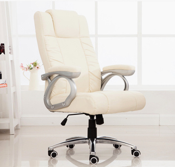 High quality office computer chair comfortable ergonomic boss staff chair multifunctional household rotary chair 240311 high quality pu leather computer chair stereo thicker cushion household office chair steel handrails