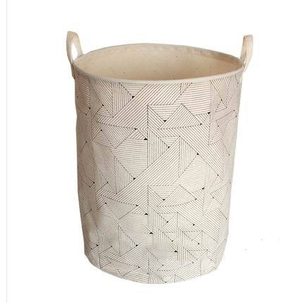 Laundry Bags With Handles New Popular 6060cm Cotton Laundry Basket With Handles Storage Basket