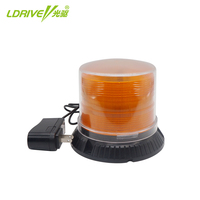 16 LEDs Wireless Car Warning Light Emergency Amber Strobe Flashing Lights LED With Charger Strong Magnetic