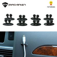 8Pcs/set car cable holder car clips headphone sets plastic clips fastener for car wire cable holder Automobile cable organizer(China)