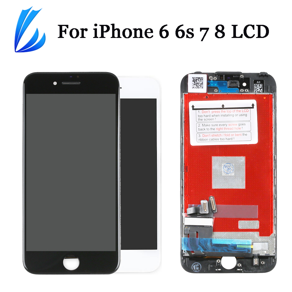 Display For IPhone 7 6s 6 8 LCD Screen Replacement Display Full Assembly 4.7'' For IPhone6 6s 7 8 LCD Touch Digitizer Pantalla