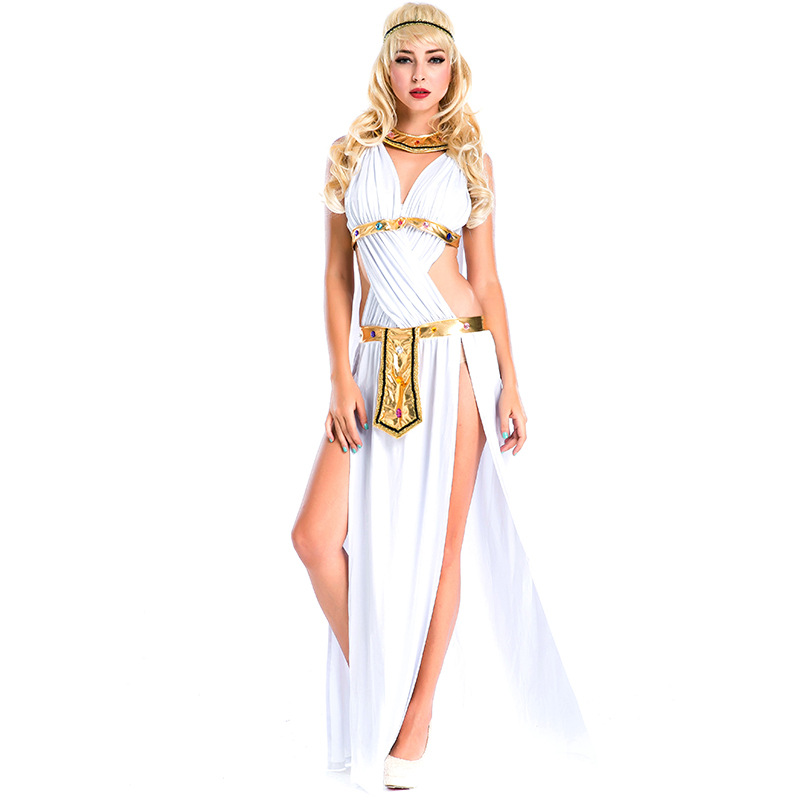 Halloween costumescarnaval kigurumi Arab princess Egypt queen Chrismas party cosplay costume of cleopatra's sexy goddess dress