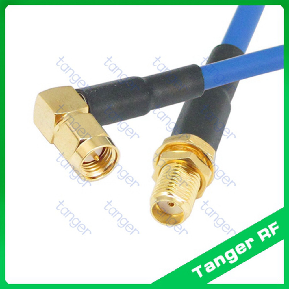 50ohm Areyourshop 10Pcs SMA Male to SMA Male RF Extension Coaxial Pigtail Semi-Rigid Cable RG402 50cm