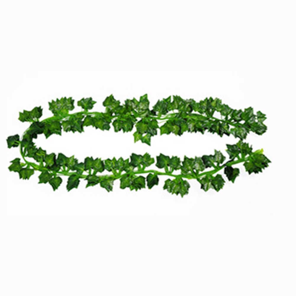 Symulacja zielony trzciny Virginia creeper sztuczne Boston bluszcz dom weselny Decor 200 cm długość winorośli pnącza prezent party favor