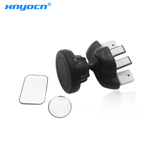 360 Degree Rotating Universal Magnetic Car Phone Holder Car CD Slot Air Vent Mount Stand Bracket For iPhone 7 For Samsung