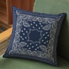 Pattern religious ritual belief linen cotton throw pillow case office sofa car cushion cover 45×45 cm home decor