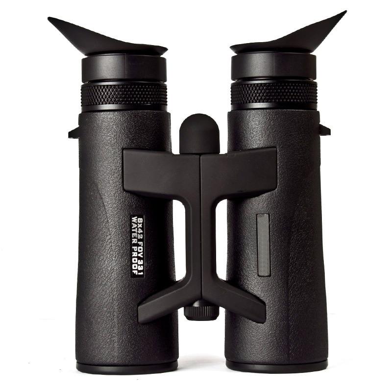 8x42 Hunting Night Vision Optics HD Professional Binoculars Telescopio Powerful Zoom Focus Waterproof Nitrogen Luneta Telescope цена и фото