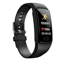 2019 Col Mi Band 3 جهاز تعقب للياقة البدنية مع قياس الضغط يا زائد سوار ذكي عداد الخطى الرياضة ساعة ذكية ضغط الدم