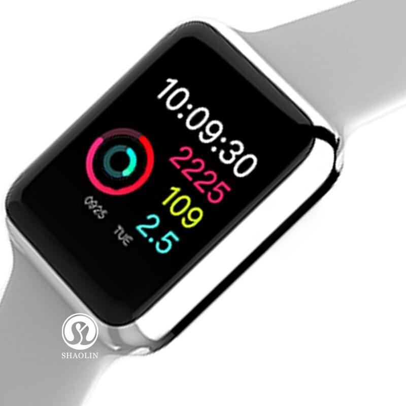 Умные часы серии 4 с Bluetooth, спортивные часы для Apple iPhone 5, 6, 6S, 7, 8, Android, С Пульсометром