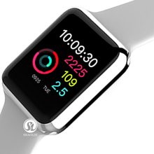 цена на New Bluetooth Smart Watch Series 4 Smartwatch Sport Watch For Apple iPhone 5 6 6S 7 8 Android Phone With Heart Rate Monitor