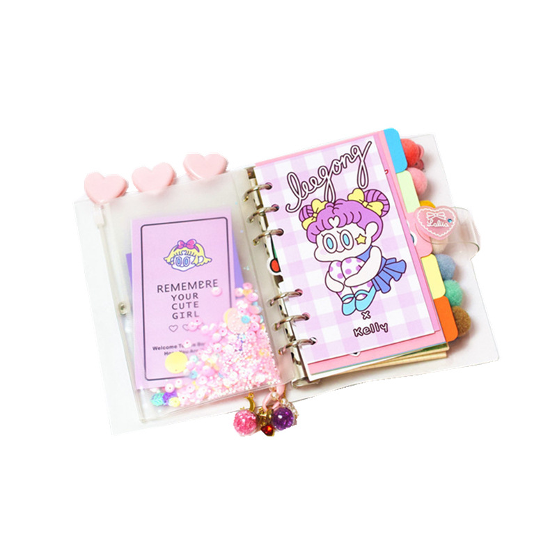 Image 2 - DIY Notebook Bingbing Super Star Planer Kawaii Bullet Journal Girl 's Diary Organizer Student Daily Weekly Plan Stationery Gift-in Notebooks from Office & School Supplies