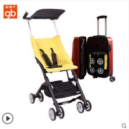 small volumn portable baby travel stroller summer breathable