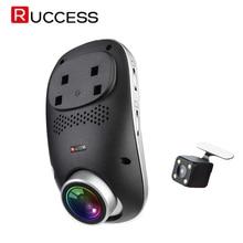 Ruccess 4 г dashcam удаленного Мониторы реального времени наблюдения ADAS автомобиля Камера DVR Wi-Fi приложение Двойной объектив 1080 P Ночное видение