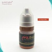 Kalıcı Makyaj Pigment Kaş Dudak Kalemi Microblading malzemeleri pigment Mavi Dur düzeltme Için renkler turuncu kahve 5 ml