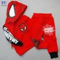 2017Spring new children's clothing spider man costume spiderman suit spider-man costume Children's Sets