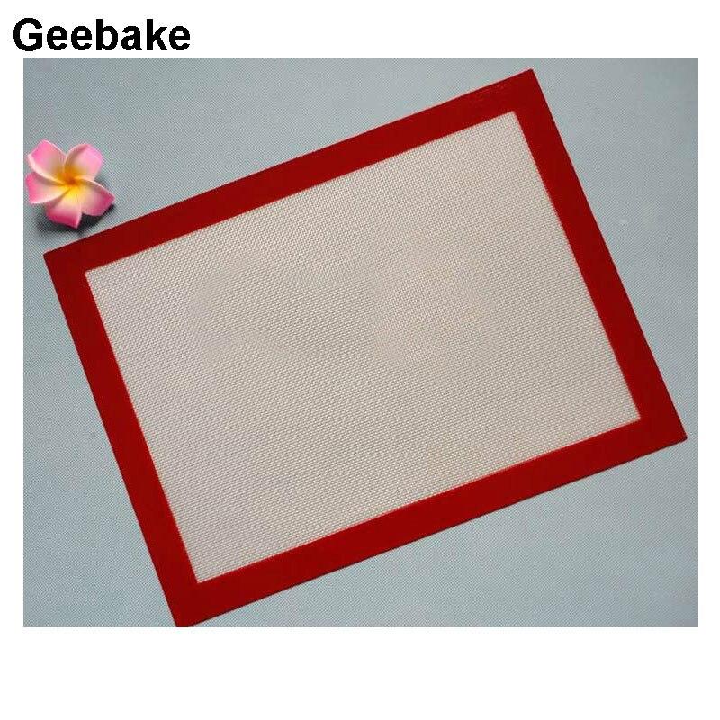 40*30cm platina silicone cozimento esteira de fibra de vidro reforçado antiaderente pode colocar o forno macarrão ferramentas panelas m0011