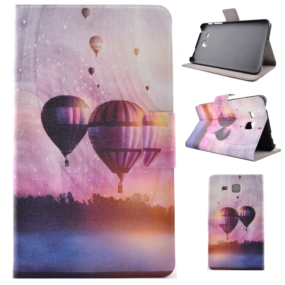 High Quality Print Painting Stand PU Leather Sleeve Cover Protective Case For Samsung Galaxy Tab A 7.0 SM-T280 T280N T285 Tablet case for samsung galaxy tab a 9 7 t550 inch sm t555 tablet pu leather stand flip sm t550 p550 protective skin cover stylus pen