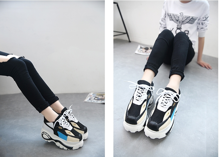 22298308ac53 ... sweet platform shoes  many fashionable f12a7 8de30 Y9393 2015 Size 35  39 Japanese Harajuku Style Women Retro Trifle Platform ...