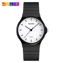 SKMEI Top Brand Fashion Womens Watch 30m Waterproof Quartz Round Dial Business Casual Models Relogio Watches