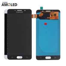 Super AMOLED LCD For SAMSUNG Galaxy A7 2016 A710F A710 Display Touch Screen Digitizer Samsung A7100