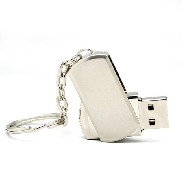Qualidade superior usb flash drive pen drive 4 GB 8 GB 16 GB 32 GB 64 GB 512 GB à prova d ' água chave de Metal pendrive cartão Memory Stick Drives u disk