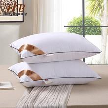 2 шт., эластичная Подушка, вставка, высокое качество, подушка для внутреннего сна, белые подушки для здоровья шеи, забота, постельные принадлежности, подушка с памятью для кровати 24