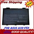 Аккумулятор для ноутбука Asus K50AB K70 A32-F52 F82 K50I K60IJ K61IC A32-F82 L0690L6 F82 K40  K50 K51 K60 K61 K70 P81 X5A X5E X70 X8A K40IJ K40IN K50ij K50IN