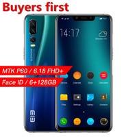 2019 оригинальный elephone A5 смартфон MT6771 Восьмиядерный 6,18 FHD 18,7: 9 Android 8,1 6 ГБ + 128 GB 20MP Face ID 4G LTE OTG Мобильный телефон