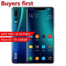 2019 оригинальный elephone A5 смартфон MT6771 Восьмиядерный 6,18 «FHD 18,7: 9 Android 8,1 6 ГБ + 128 GB 20MP Face ID 4G LTE OTG Мобильный телефон
