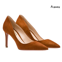 Aiyoway Women Shoes Ladies Pointed Toe High Heels Pumps Autumn Spring Summer Party Work & Career Slip-On Thin Heel