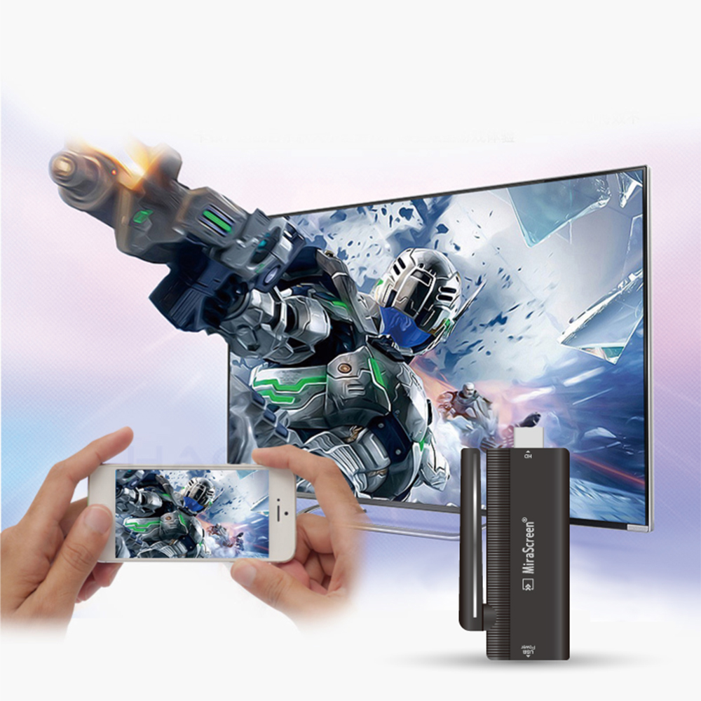 WiFi Display HDMI Dongle Receiver Media Streamer  2 Chrome Crome Cast Miracast YouTube Airplay(China)