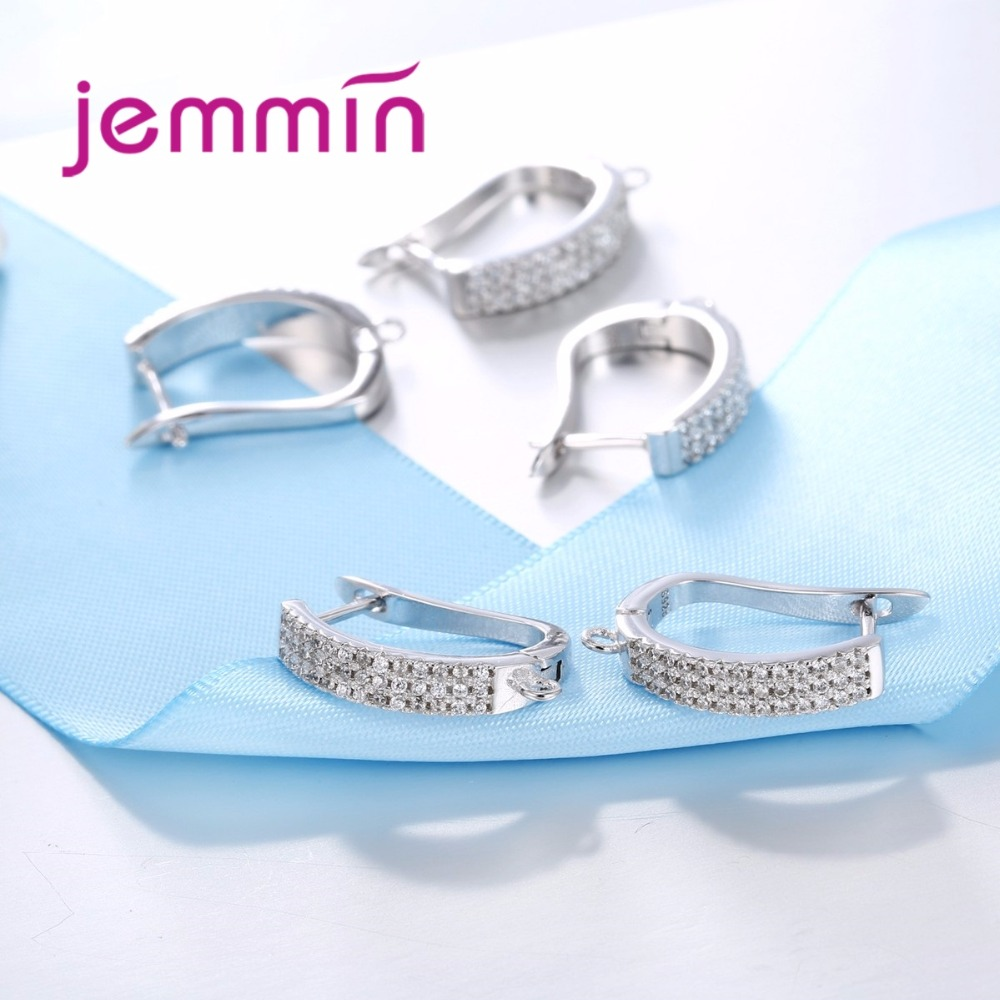 Jemmin Baru Kedatangan Penuh Batal Cubic Zirconia 925 Sterling Silver - Perhiasan bagus - Foto 4