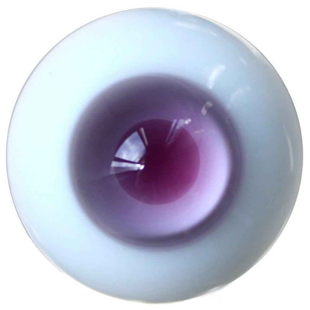 ET35# 14mm Purple Pupil SD DZ DOD LUTS BJD Dollfie Glass Eyes Outfit dolls accessories dreamy party wedding gown dress 1 3 bjd sd dz aod luts dollfie doll clothes sd outfit party clothes
