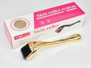Image 5 - 0.2mm/0.25mm/0.3mm dermaroller DRS 540 micro needles derma roller titanium mezoroller microneedle dr pen machine for skin care