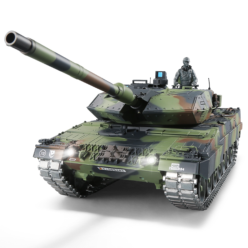 все цены на 1:16 German Leopard 2 A6 RC Main Battle Tank 2.4GHz Multi-frequency remote control tank best gift for Military fans and child онлайн