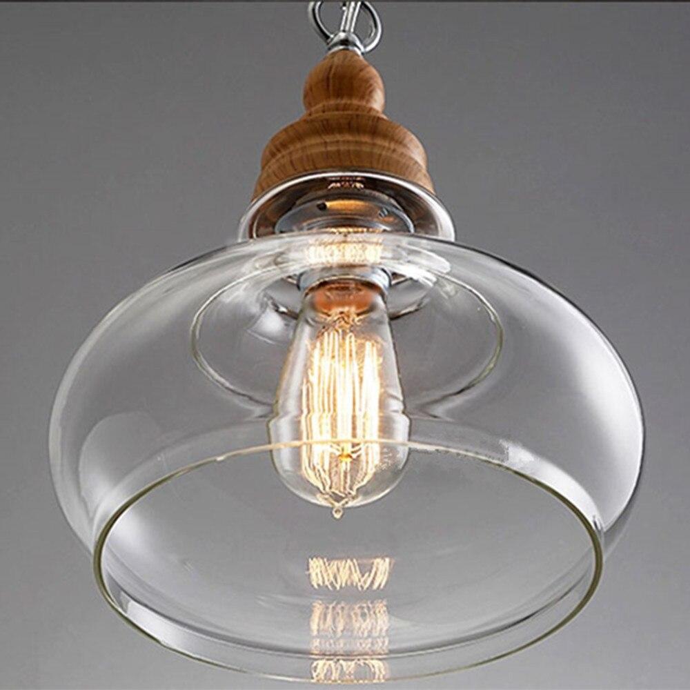 Industrie Kronleuchter Beleuchtung Mini Glasschirm Led leuchten ...