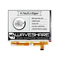 Waveshare 9 7 zoll E-Tinte raw display mit parallel port für Raspberry Pi 2B/3B/3B + /null/Null W 1200x825 auflösung