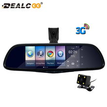 Dealcoo Car DVR Camera Mirror 3G Special Auto 7″ Android 5.0 Dash Cam Full HD 1080P Video Recorder Bluetooth Auto Registrar DVRs