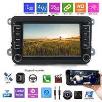 Android 7 Inch Car Multimedia Player Bluetooth Wifi Autoradio Car Radio Gps Navigation for Volkswagen 2 Din Car Audio Stereo