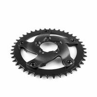 Electric Bike Chainwheel Bicycle Cycling Black For Bafang G320 BBS03B BBSHD Mid Drive Round