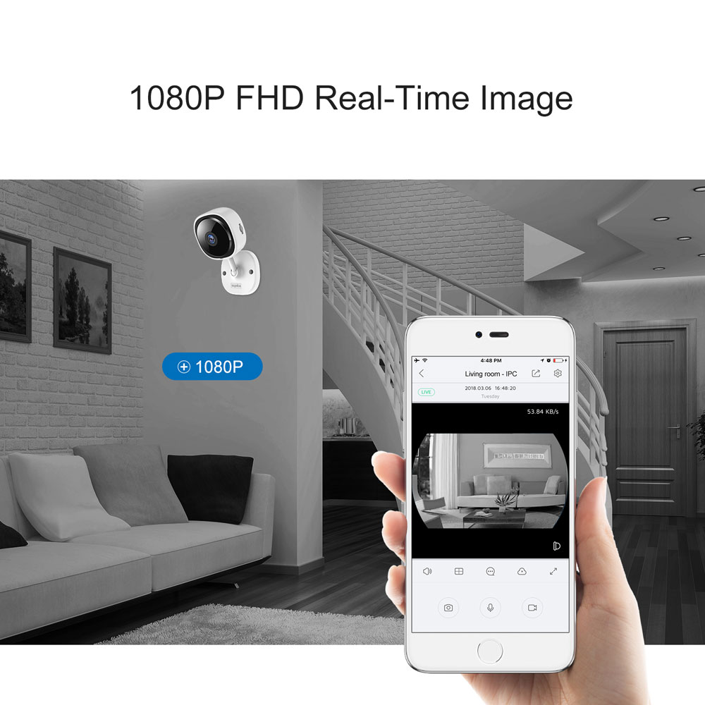 1080P Wireless Mini IP Camera With Two Way Vision To Secure Your Baby At Home 2