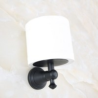 Bathroom Accessory Black Oil rubbed Antique Brass Wall Mounted Toilet Paper Roll Holder aba818