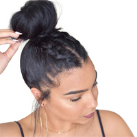 RXY Straight Lace Front Human Hair Wigs For Black Women Brazilian Pre Plucked Full Lace Wigs Human Hair With Baby Hair Non Remy