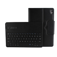 Newest Removable Wireless Bluetooth Keyboard With Stand PU Leather Case Cover For Google Nexus9 8 9