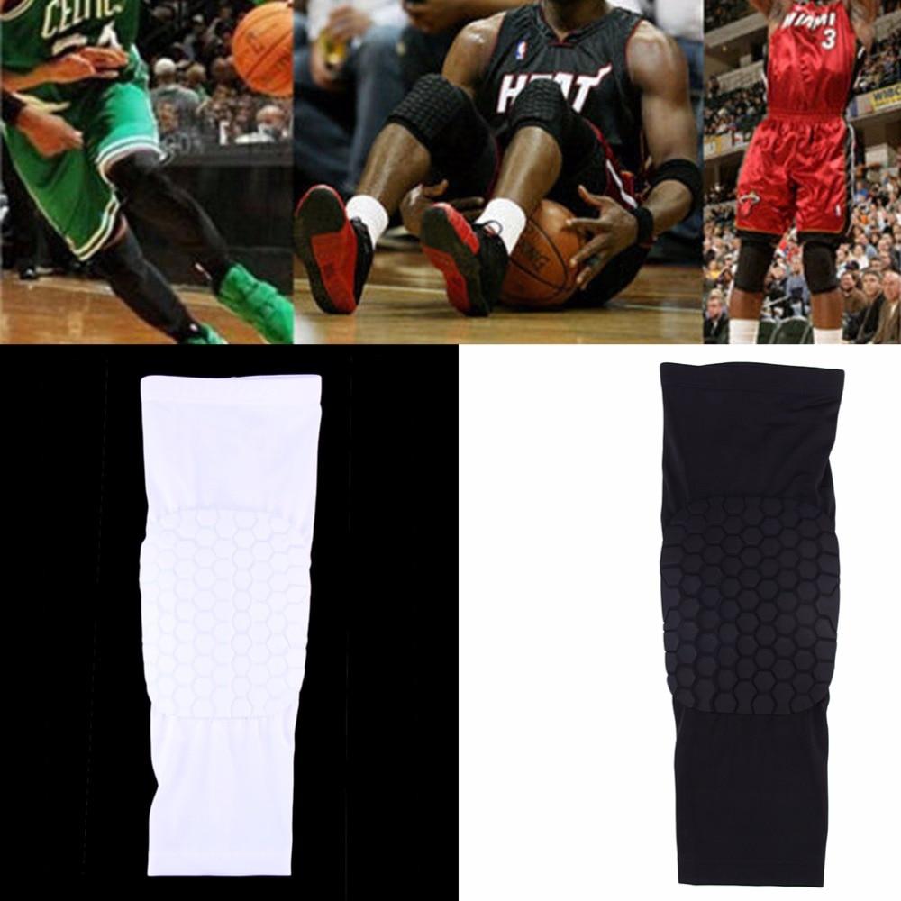 Short Leg Knee Protector Gear Hot Kids Adult Pad Basketball Leg Knee Long Sleeve Protector Gear Crashproof