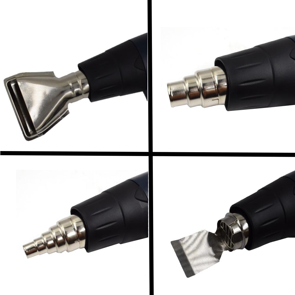 Termoregolatore LCD industriale elettrico pistola ad aria calda 1800W - Utensili elettrici - Fotografia 6